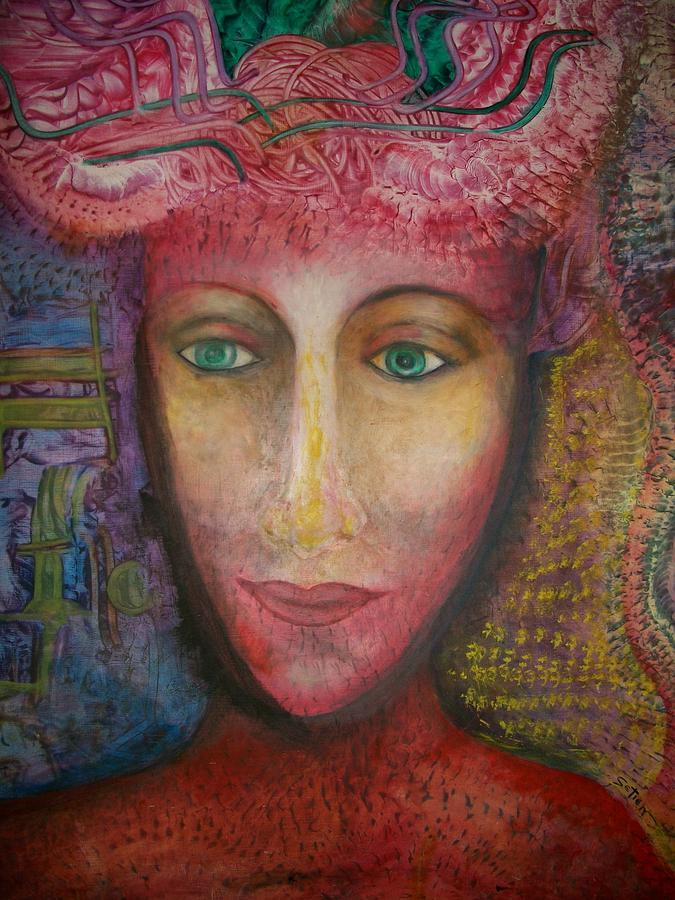 Surreal Painting - Atlantis Bride by ED Setien