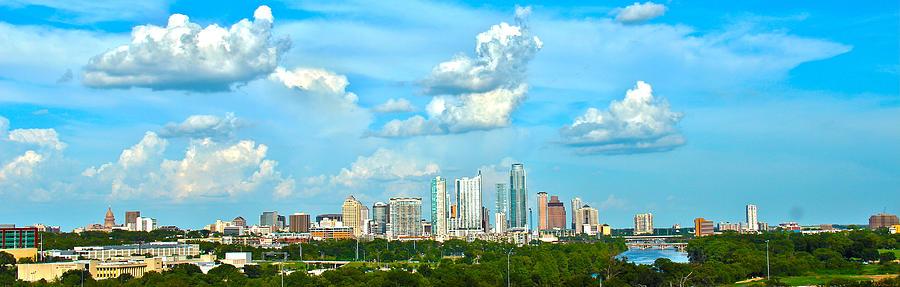 Austin Photograph - Austin Cityscape by Andrew Nourse