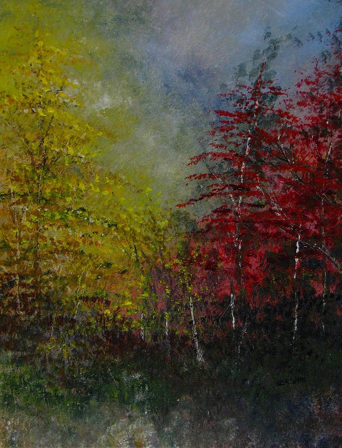 Autumn Painting - Autumn Sunshine by Sherry Robinson