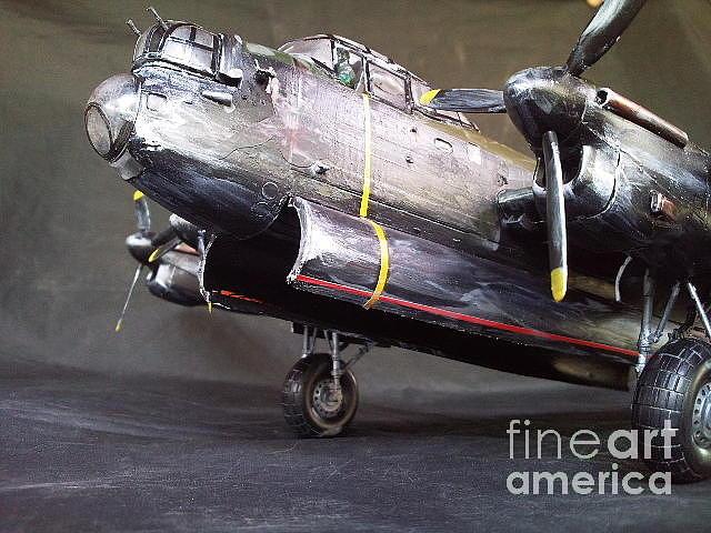 Ww2 Sculpture - Avro Lancaster by Rich Holden