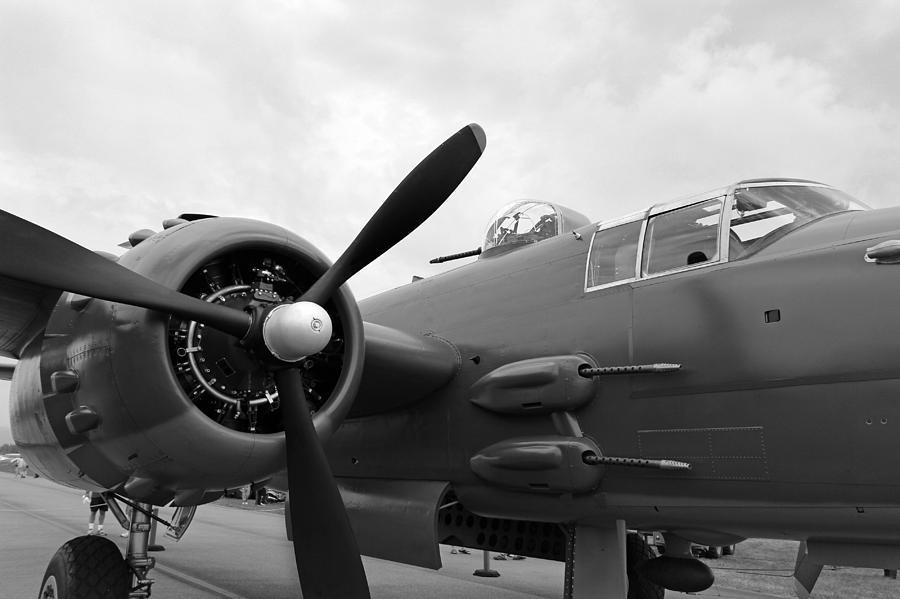 Aircraft  - B25 Bomber by Paul Fell