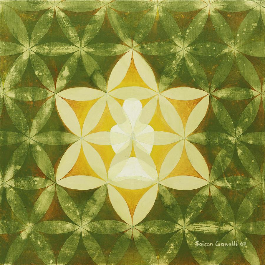 Spiritual Art Painting - Balance by Jaison Cianelli