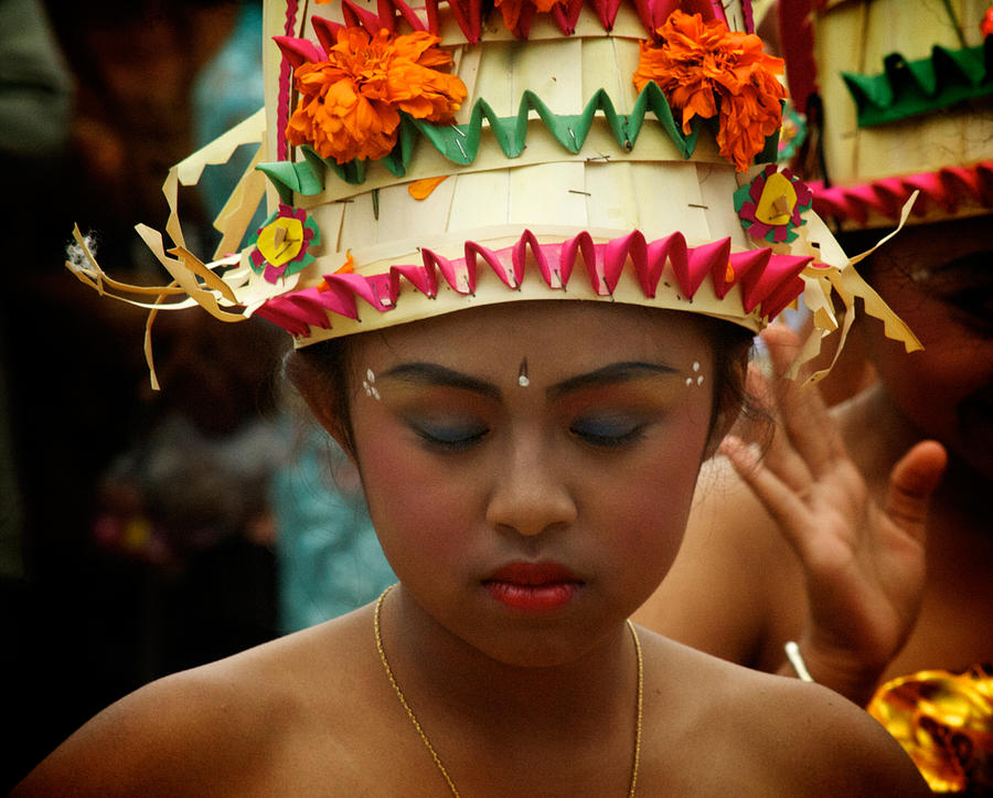 Balinese Dancer Photograph - Balinese Dancer by Ari Saaski