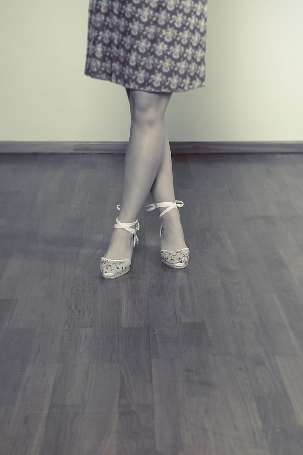 Woman Photograph - Ballerinas by Joana Kruse