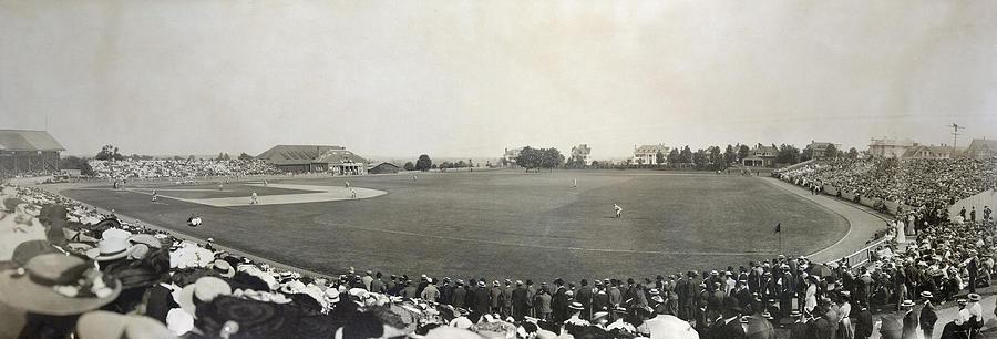 1904 Photograph - Baseball Game, 1904 by Granger