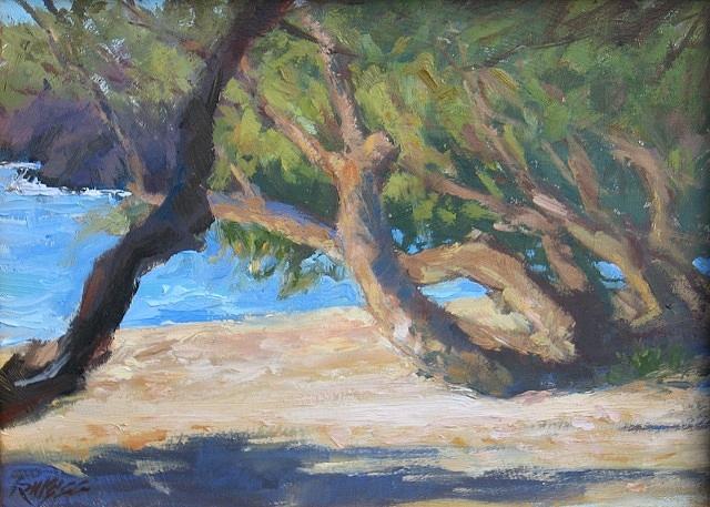 Hawaii Painting - Beach 69 by Robert Weiss