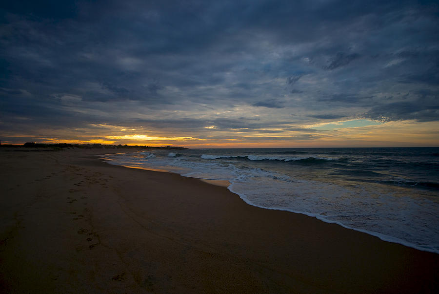 Beach Photograph - Beach Sunrise by Mike Horvath