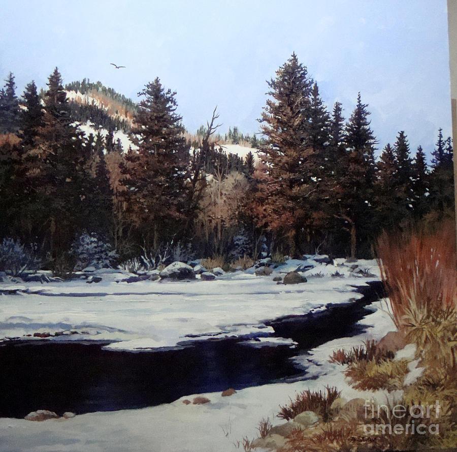 Snow Painting - Beaver Creek by W  Scott Fenton