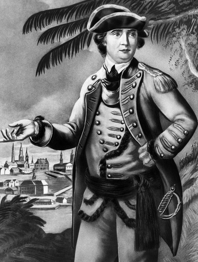 1700s Photograph - Benedict Arnold 1741-1801, American by Everett