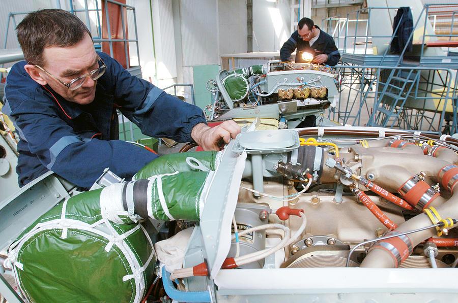 Snipe Photograph - Beriev Be-103 Seaplane Assembly by Ria Novosti