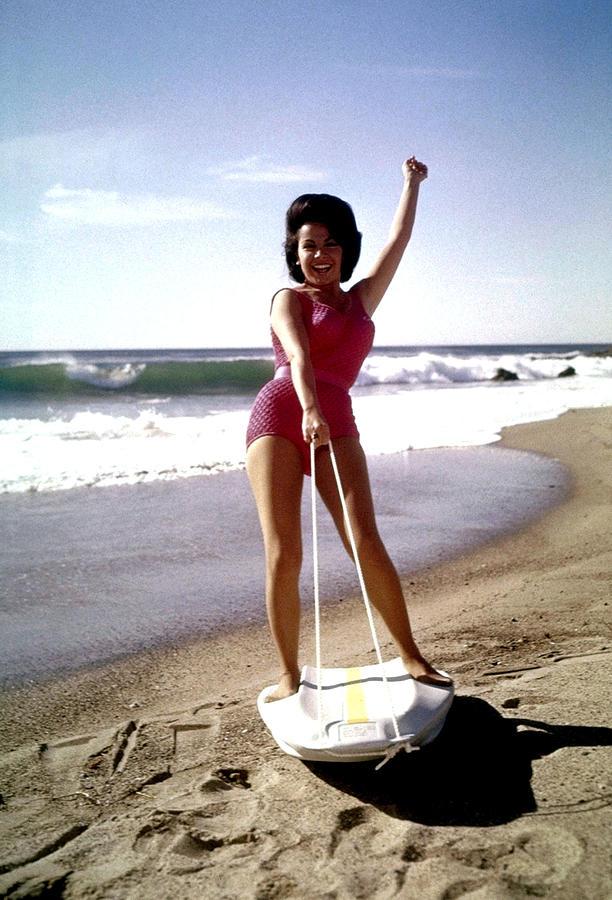 Annette funicello bikini beach