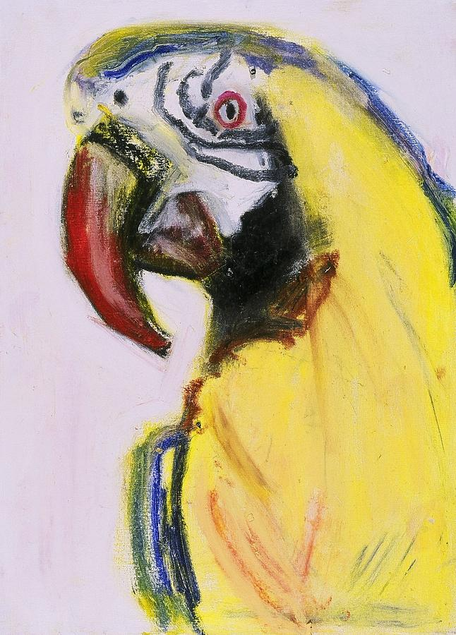 Bird Painting - Bird Portrait 1 by Iris Gill