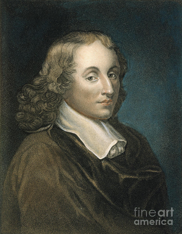 Blaise Pascal 1623 1662 Photograph By Granger
