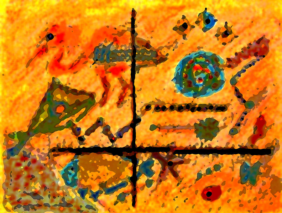 Abstract Mixed Media - Bliss Is A Constant by Patricia Januszkiewicz
