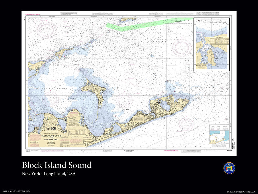 Ocean Photograph - Block Island Sound by Adelaide Images