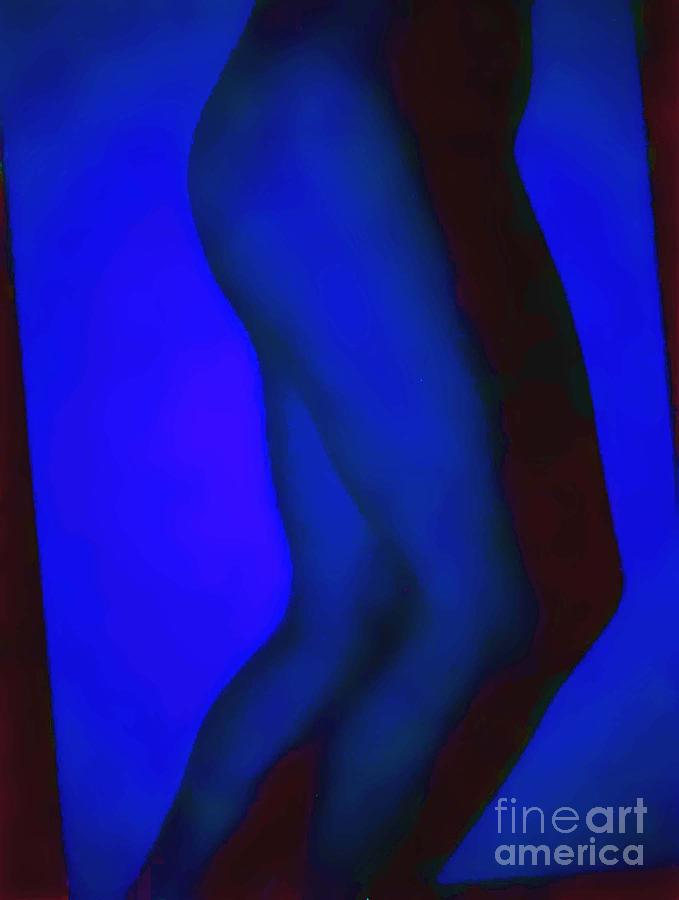 Legs Photograph - Blue Legs by J erik Leiff