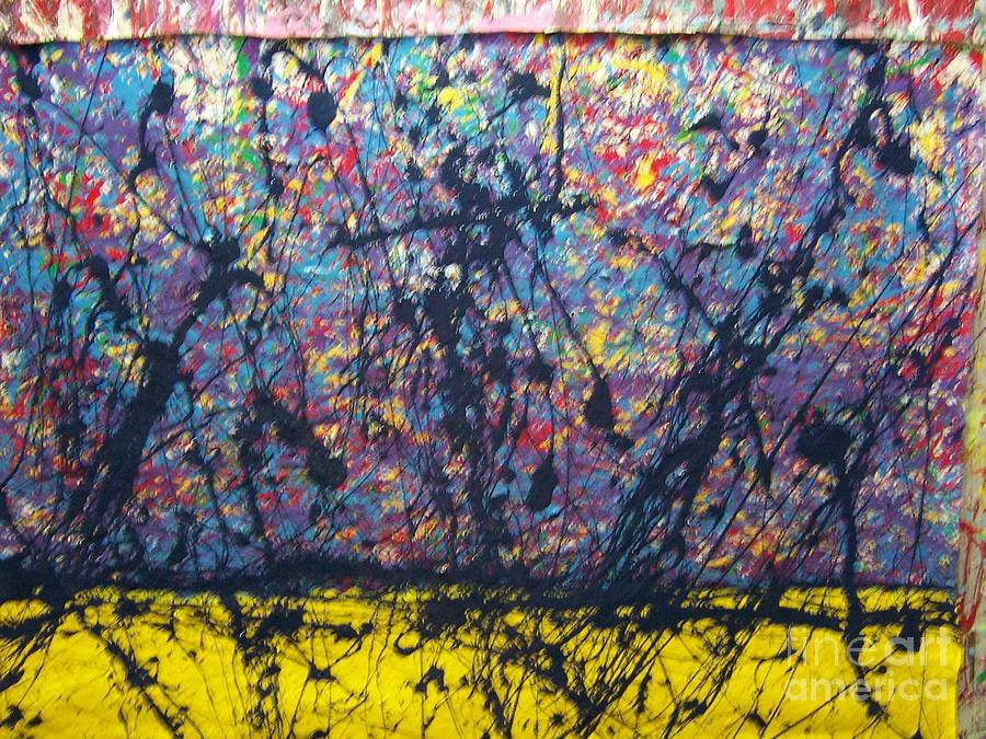 Blues Before Sunrise Painting by Meroe Rei