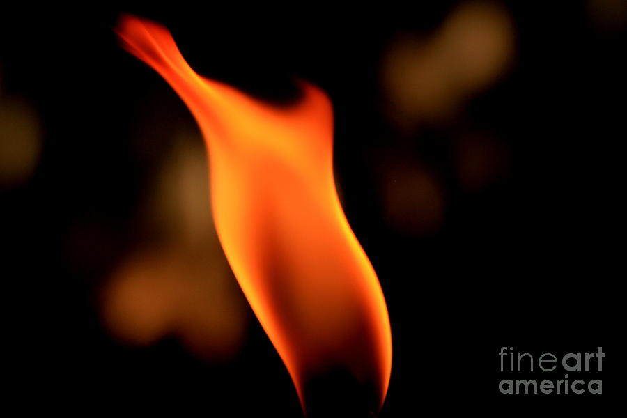 Abstract Photograph - Body Of Fire 2 by Arie Arik Chen