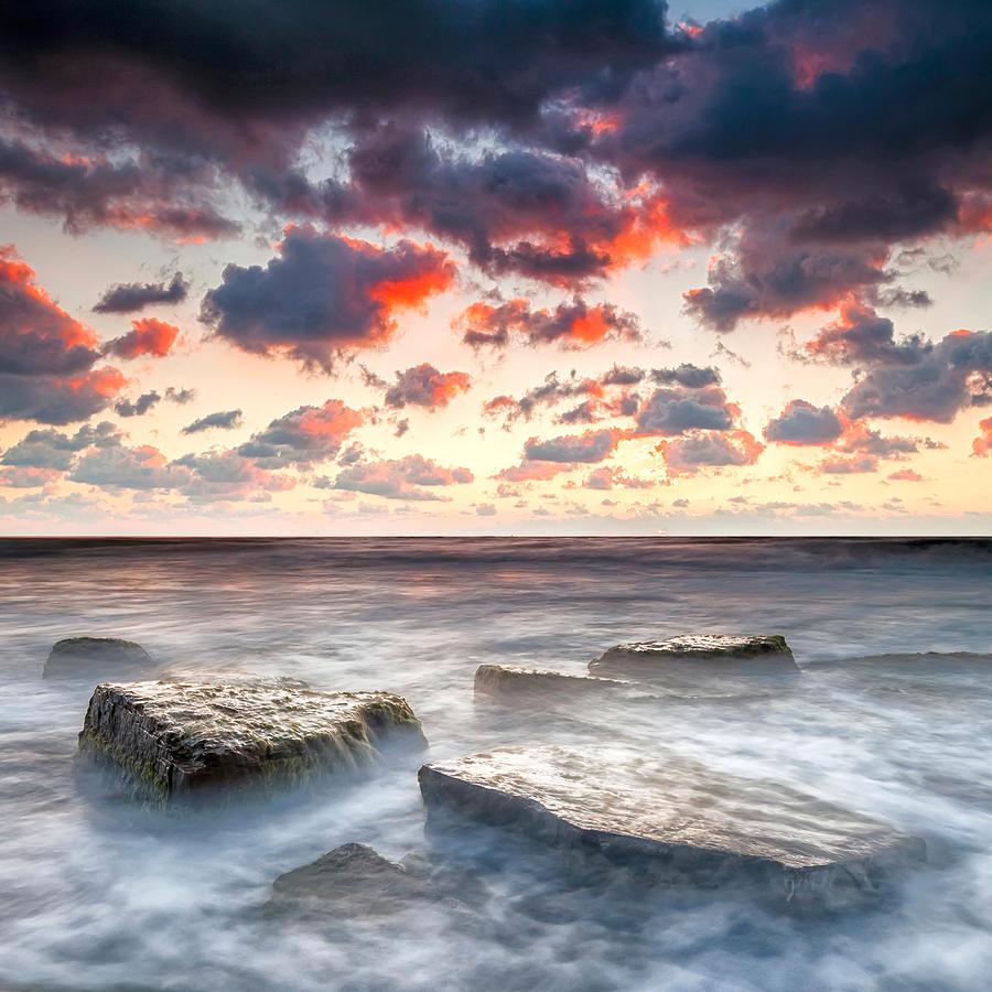 Black Sea Photograph - Boiling Sea by Evgeni Dinev