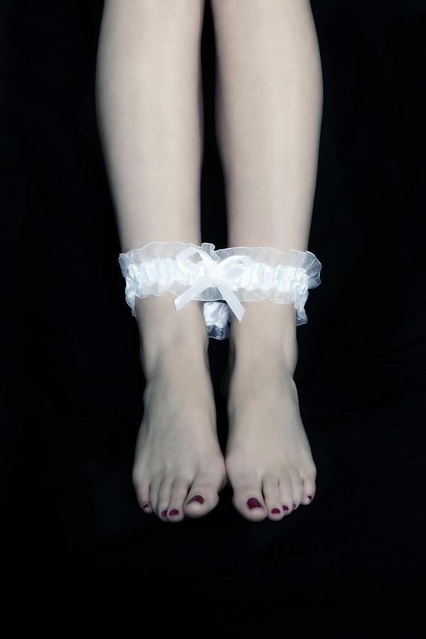 Female Photograph - Bonded Legs by Joana Kruse