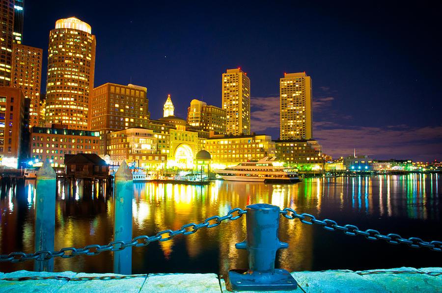 Boston Photograph - Boston Harbor Hotel by Erica McLellan