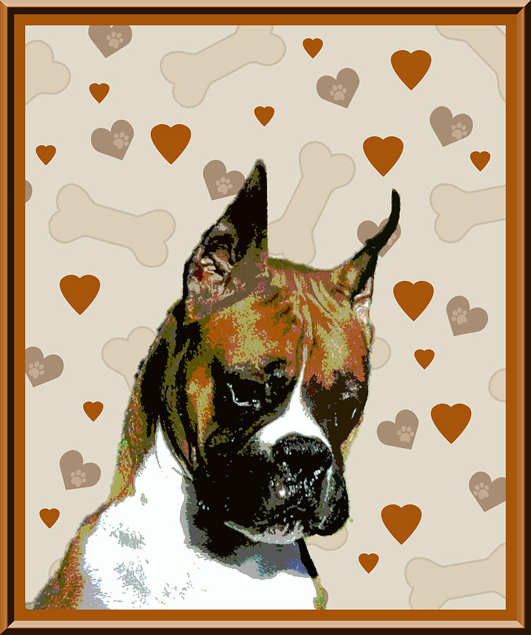 Boxer Photograph - Boxer by One Rude Dawg Orcutt