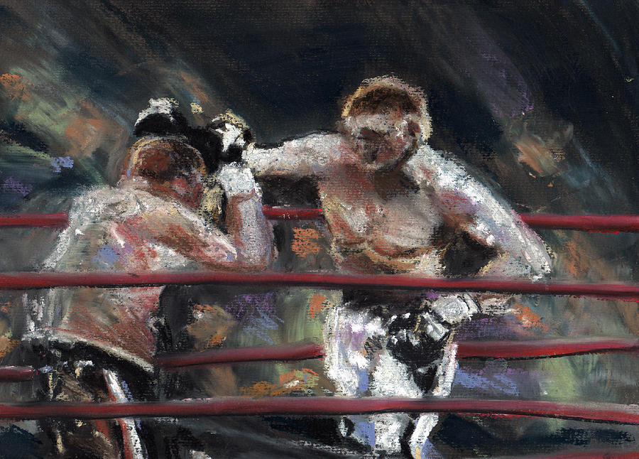Famous Painting Boxing Match