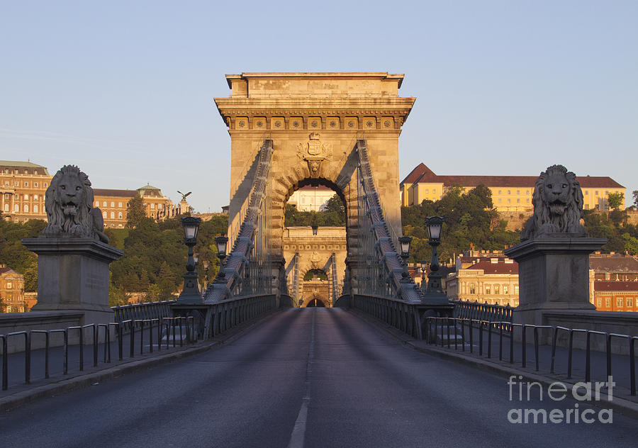 Budapest Photograph - Bridge by David Buffington