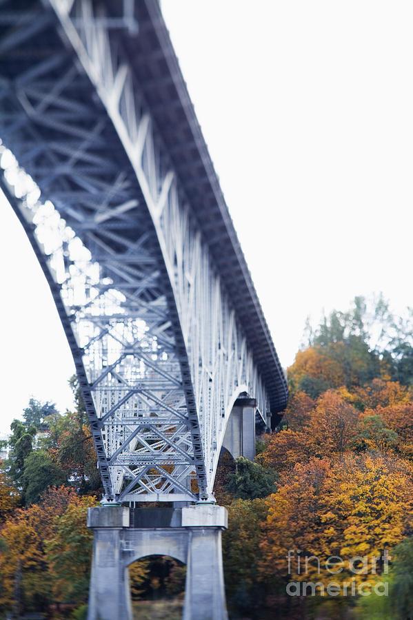 Anchor Photograph - Bridge Footing And Anchor Point by Don Mason