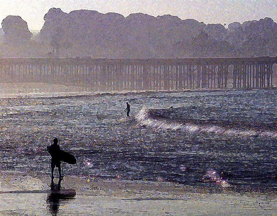 Ventura Photograph - Bringing It Into Shore by Ron Regalado