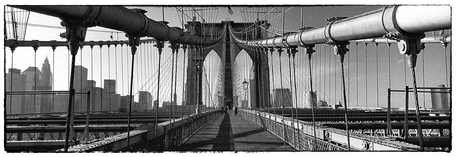 Brooklyn Photograph - Brooklyn Bridge by Peter Aitchison