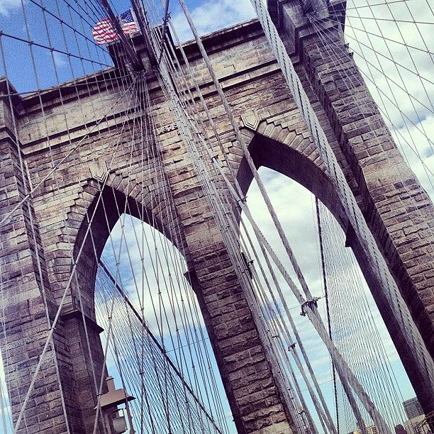 Summer Photograph - Brooklyn Bridge by Randy Lemoine