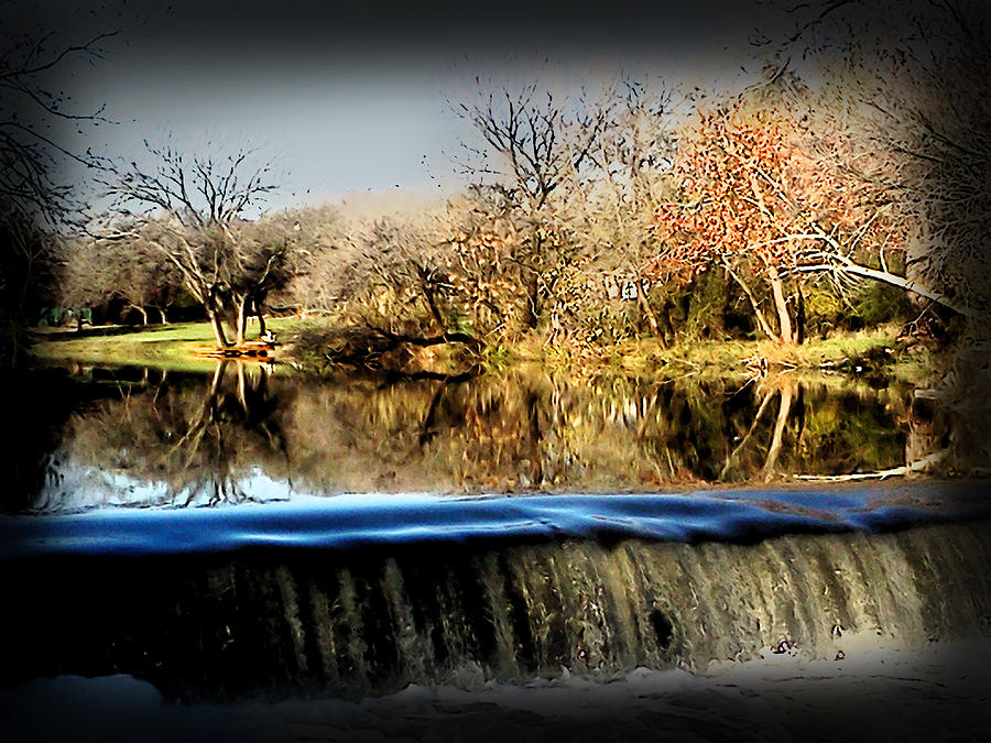 Digital Photograph - Brushy Creek II by James Granberry