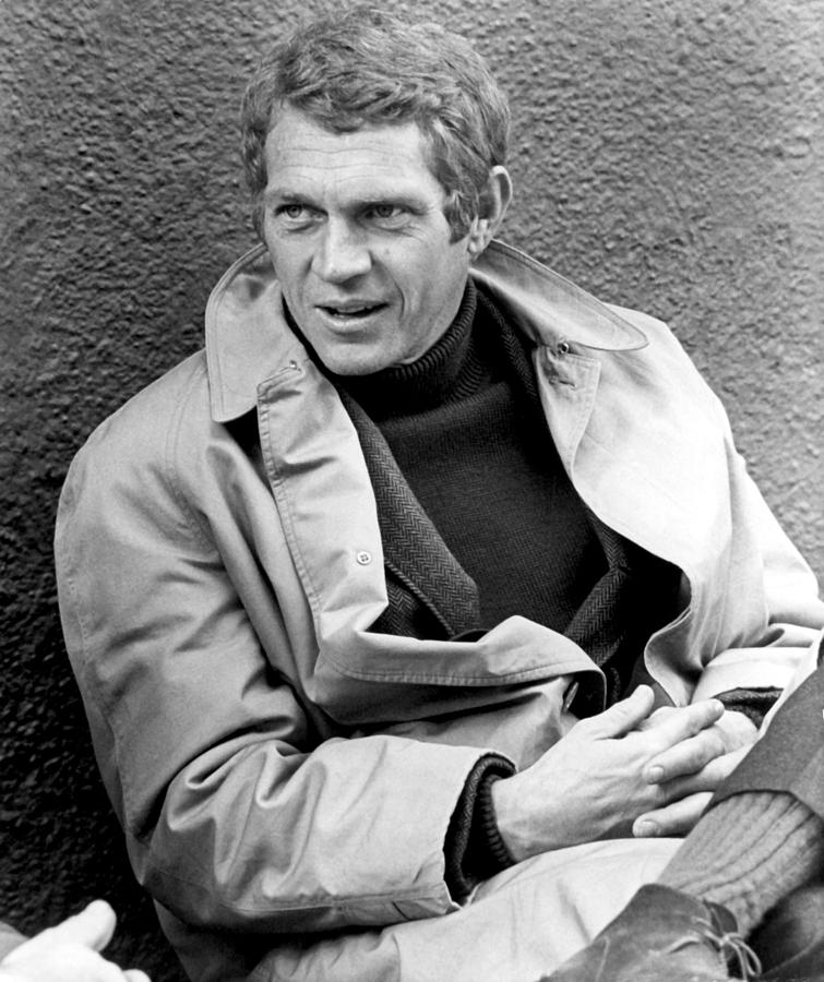 bullitt steve mcqueen 1968 photograph by everett. Black Bedroom Furniture Sets. Home Design Ideas