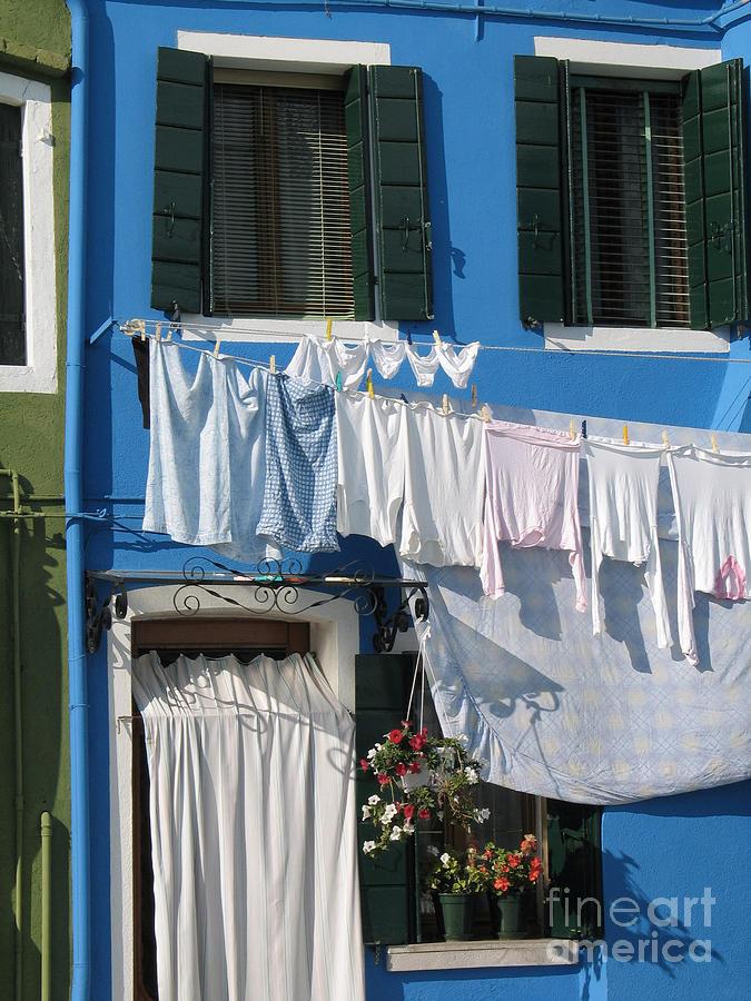 Italie Photograph - Burano. Venice by Bernard Jaubert
