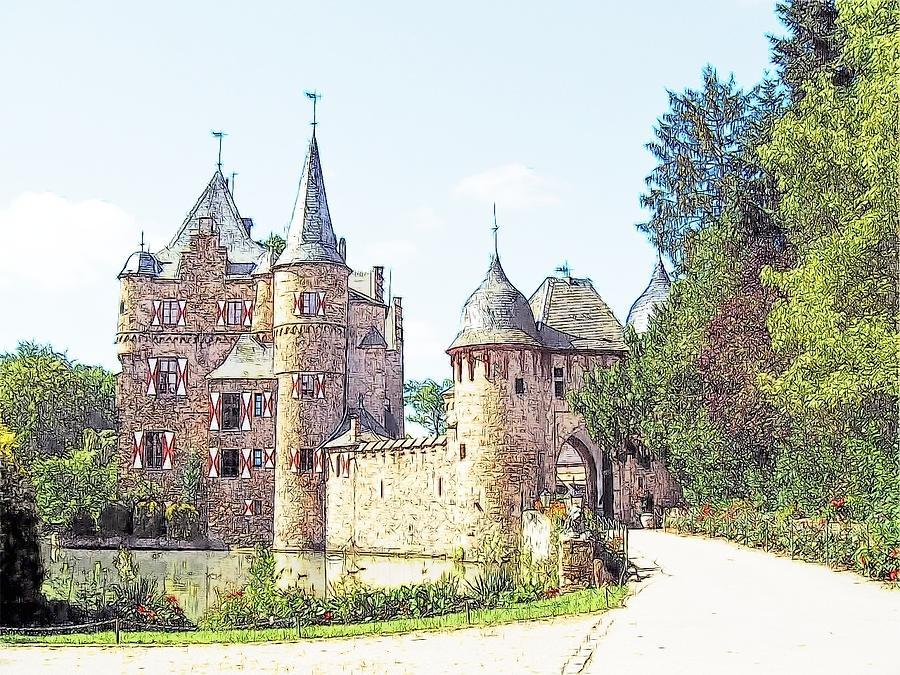 Europe Photograph - Burg Satsvey Germany by Joseph Hendrix