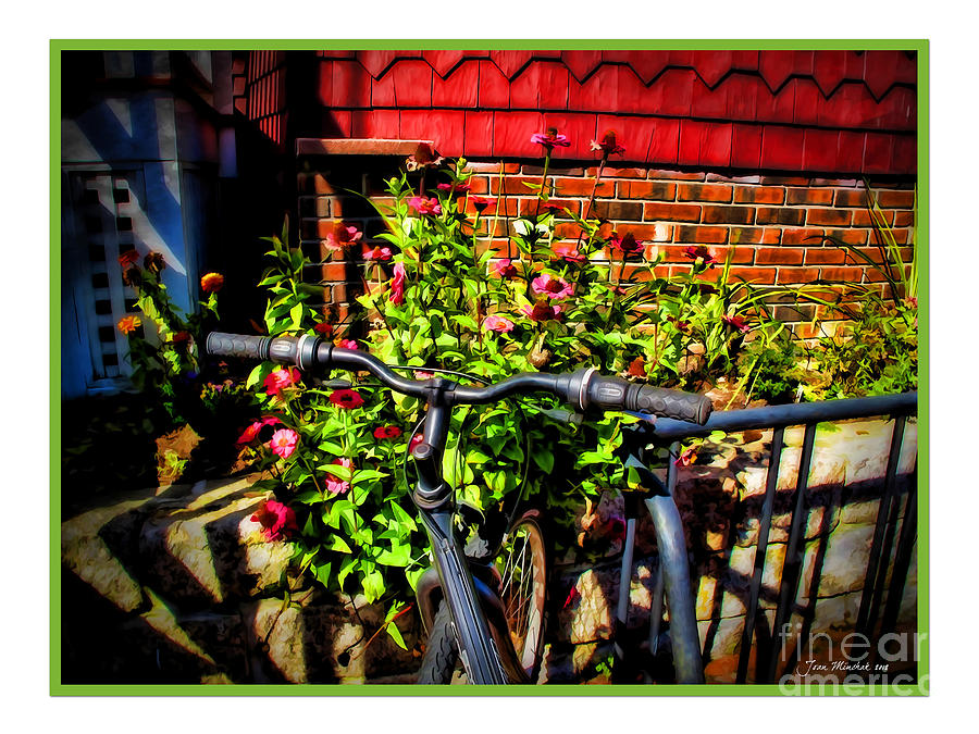 Bicycle Photograph - Cape Cod Bike by Joan  Minchak