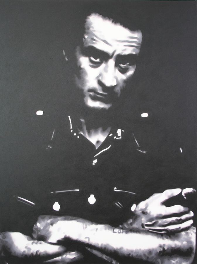 Robert De Niro Painting - Cape Fear by Luis Ludzska