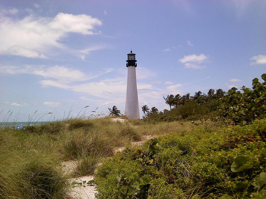 Lighthouse Photograph - Cape Florida by Tiffney Heaning