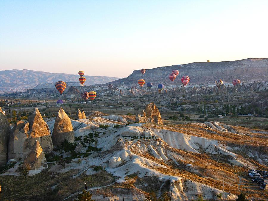Landscape Photograph - Cappadocia Turkey by Ian Stevenson