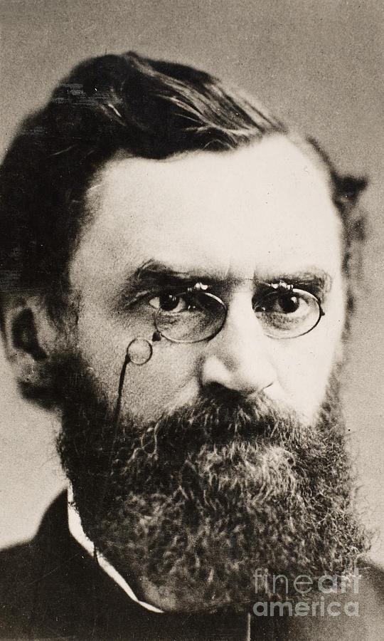 19th Century Photograph - Carl Schurz (1829-1906) by Granger
