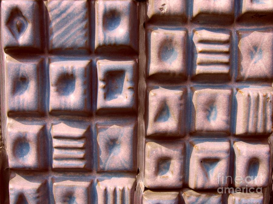 Ceramic Photograph - Ceramic Tiles by Yali Shi