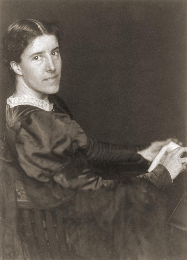 History Photograph - Charlote Perkins Gilman 1860-1935 by Everett