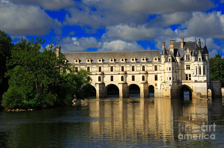 Chateau Photograph - Chateau Chenonceau by Louise Heusinkveld