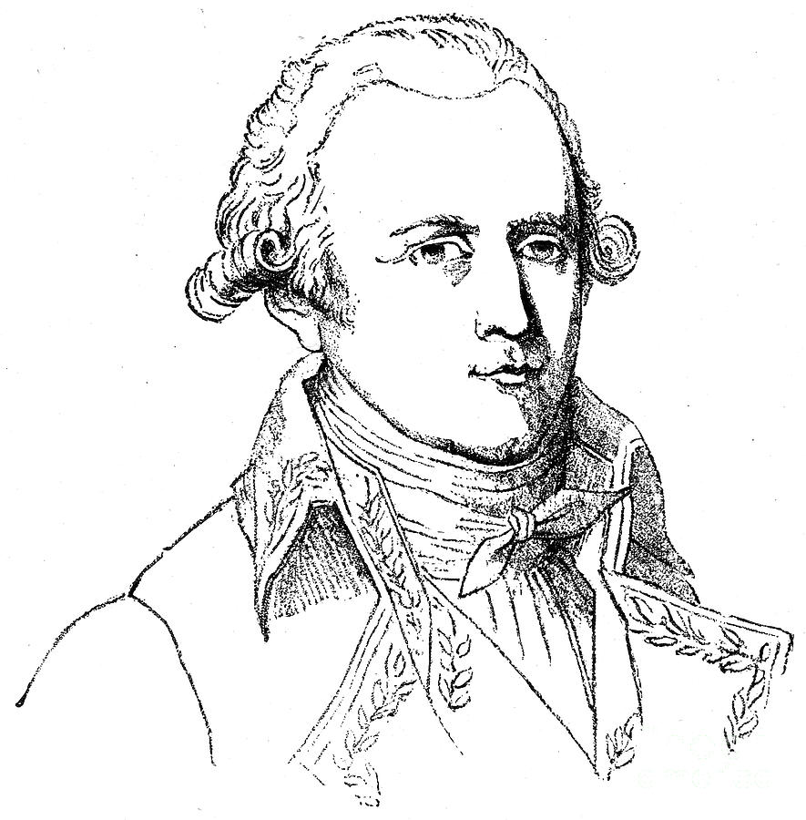 18th Century Photograph - Chevalier De Lamarck by Granger