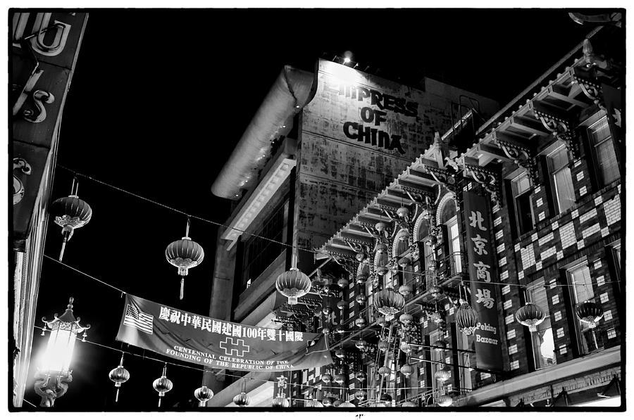 San Francisco Photograph - Chinatown At Night by Tanya Harrison