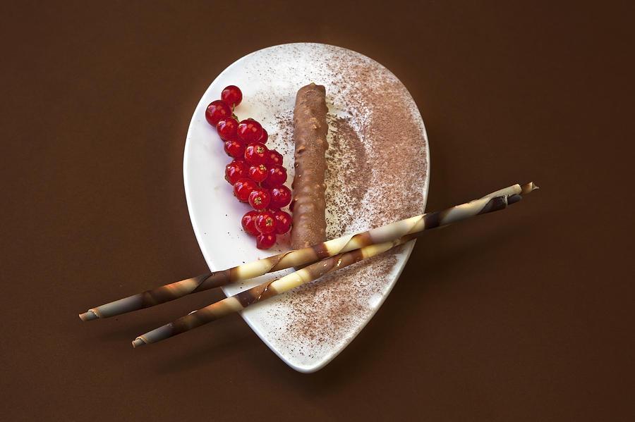 Chocolate Photograph - Chocolate Praline by Joana Kruse