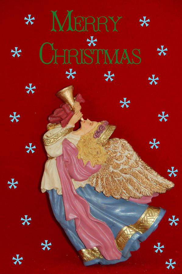 Christmas Card Photograph - Christmas Angel by Aimee L Maher Photography and Art Visit ALMGallerydotcom
