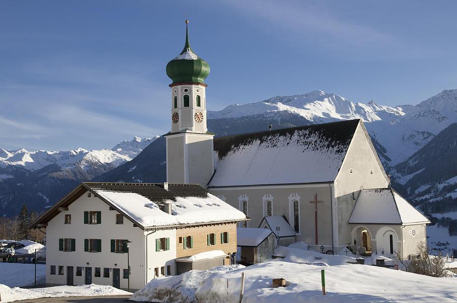 Winter Photograph - Church In Winter by Matthias Hauser