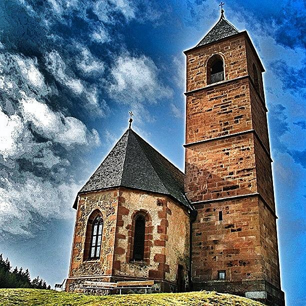 Outdoor Photograph - Church by Luisa Azzolini